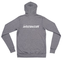Load image into Gallery viewer, MONUMENT Grey Zip Hoodie - Girls