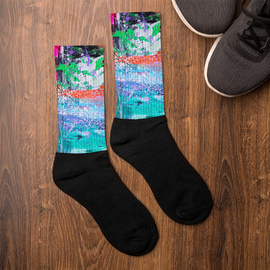Original Art by Jenny Shakeshaft Socks