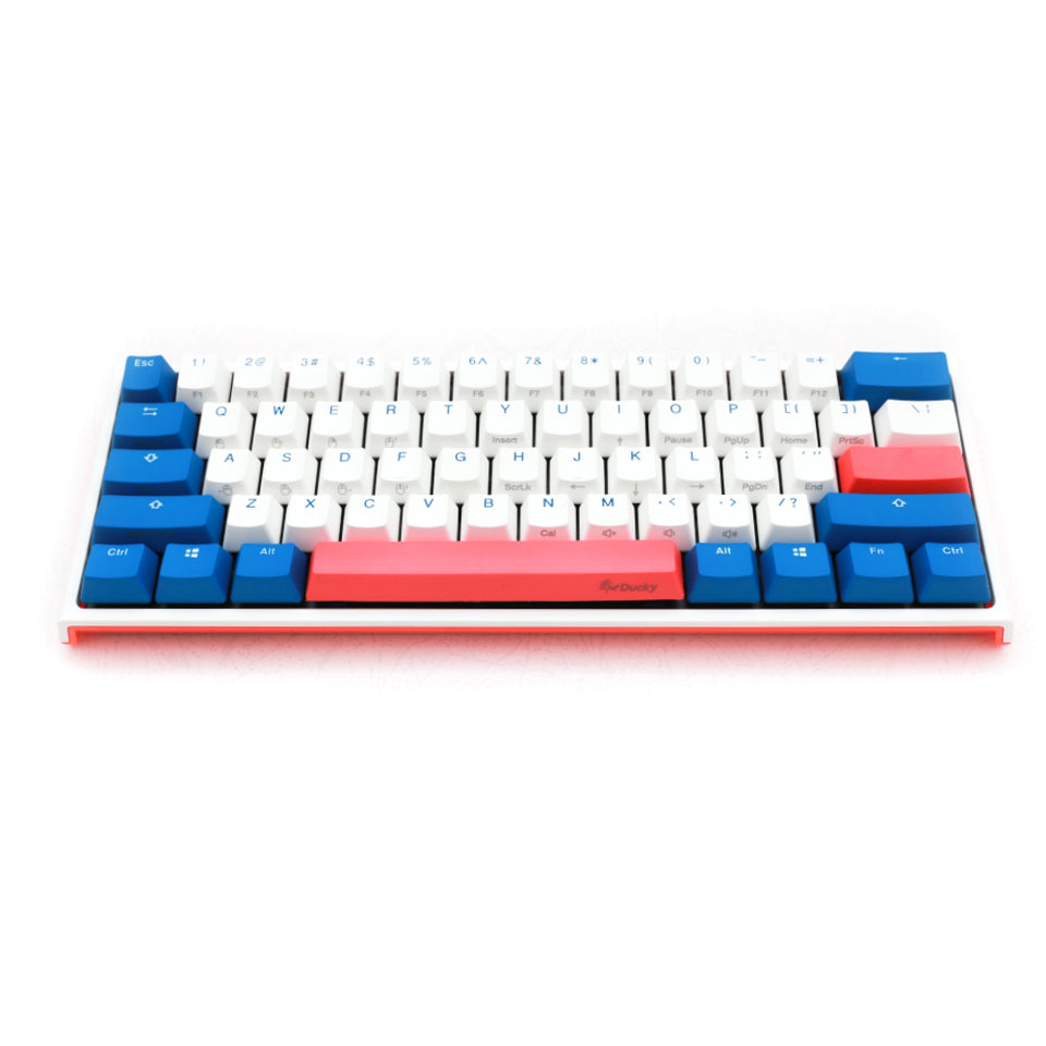 Ducky ONE 2 Mini - Bon Voyage - White LED