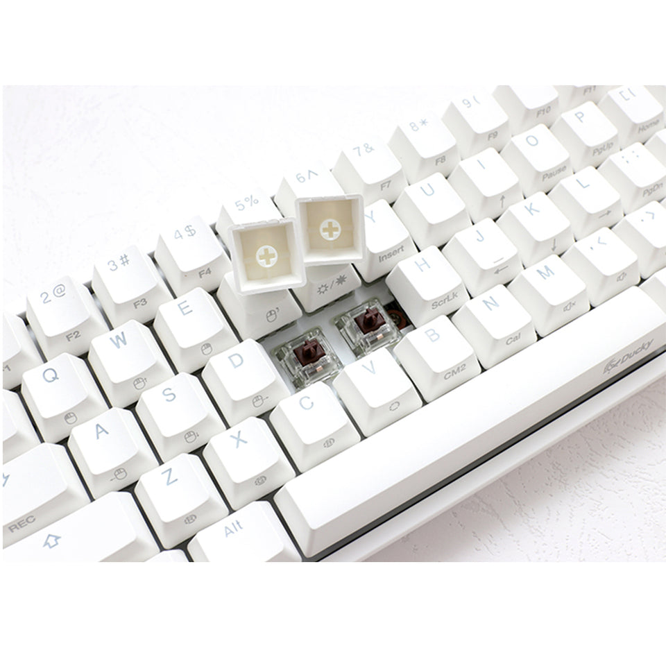 Ducky One2 Mini White RGB - 3