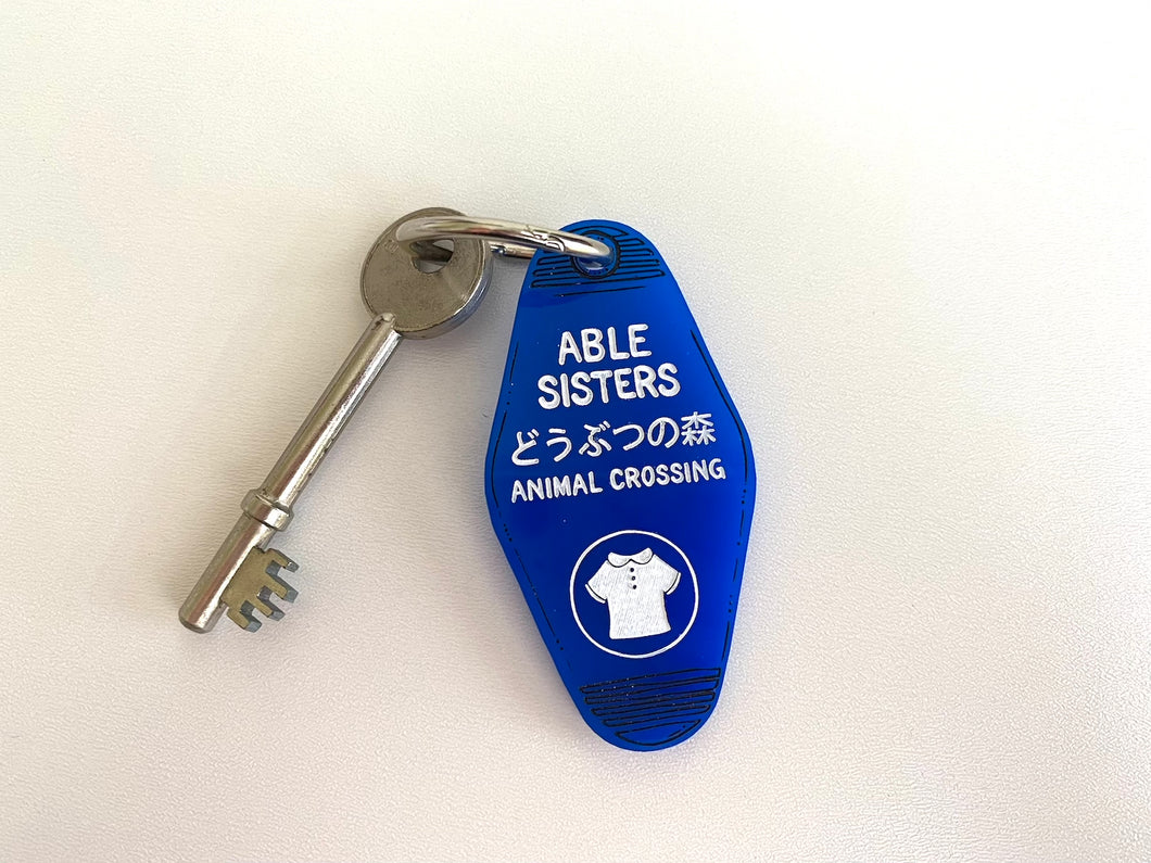 Able Sisters - Animal Crossing Key Ring