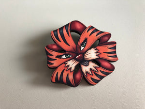 Tiger Lily Brooch