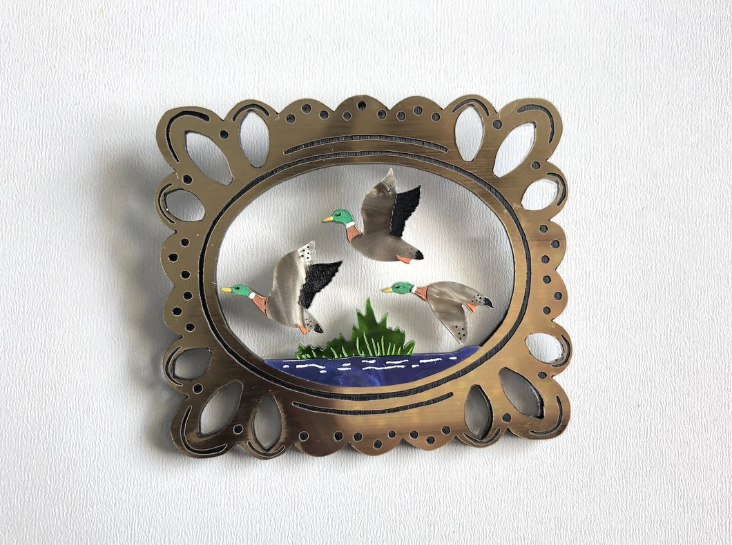Mary's Flying Ducks Brooch