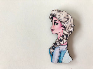 Elsa - Princess Profile - Brooch