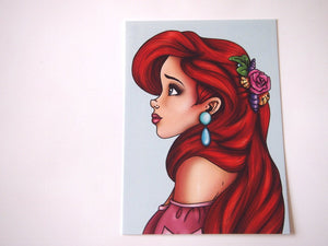 Ariel - The Little Mermaid Postcard