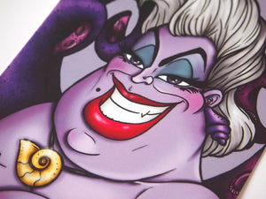 Ursula - The Little Mermaid Postcard