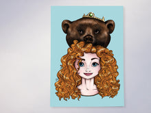 Load image into Gallery viewer, Hunter Merida Brave Postcard