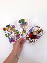 Load image into Gallery viewer, Alice in Wonderland - 3 Piece Postcard Set