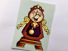 Load image into Gallery viewer, Cogsworth - Beauty and the Beast - Postcard