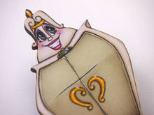 Load image into Gallery viewer, The Wardrobe - Madame de la Grande Bouche -  Beauty and the Beast Laser Cut Wood Brooch