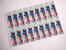 Load image into Gallery viewer, Sheet of Stickers - Pirate Marie Antoinette