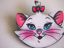 Load image into Gallery viewer, Marie Cat - Aristocats Laser - Cut Wood Brooch