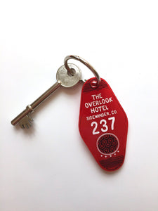 The Shining - The Outlook Hotel Room Key Ring - Keychain - Laser Cut Acrylic