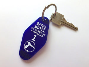 The Bates Motel - Motel Room Key Ring - Alfred itchcock - Keychain - Laser Cut Acrylic