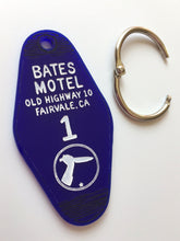 Load image into Gallery viewer, The Bates Motel - Motel Room Key Ring - Alfred itchcock - Keychain - Laser Cut Acrylic