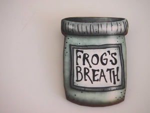 Frog's Breath Potion Bottle Brooch - A Nightmare Before Christmas - Laser Cut Wood Brooch