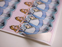 Load image into Gallery viewer, Sheet of Stickers - Alice in a Bottle - Alice in Wonderland