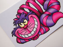 Load image into Gallery viewer, Cheshire Cat - Alice in Wonderland - Postcard