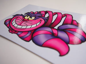Cheshire Cat - Alice in Wonderland - Postcard