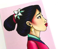 Load image into Gallery viewer, Mulan - Postcard