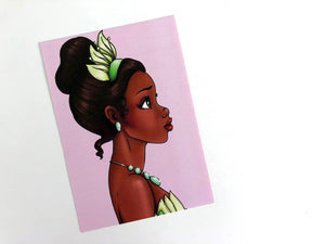 Tiana - Princess and the Frog - Postcard