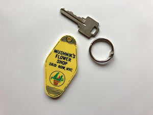 Mushnik's Flower Shop - Florist - Little Shop of Horrors - Keychain - Key Ring - Laser Cut Acrylic