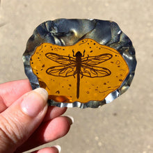 Load image into Gallery viewer, Dragonfly in Amber - Outlander - Laser Cut Acrylic Brooch