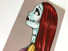 Load image into Gallery viewer, Sally - The Nightmare Before Christmas Postcard