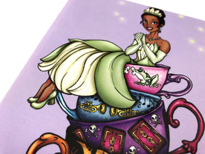 Teacup Tiana - Princess and the Frog - Postcard