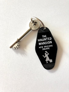 The Haunted Mansion - New Orleans Square - Key Ring - Keychain - Laser Cut Acrylic