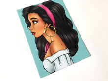 Load image into Gallery viewer, Esmeralda - The Hunchback of Notre-Dame - Postcard