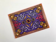 Load image into Gallery viewer, Magic Carpet - Aladdin - Postcard