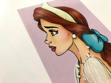 Load image into Gallery viewer, Princess Anastasia Profile - Postcard
