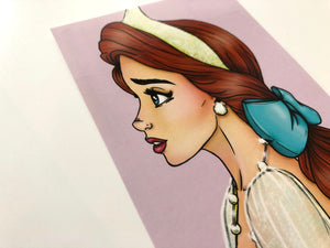 Princess Anastasia Profile - Postcard