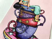 Load image into Gallery viewer, Teacup Jasmine - Aladdin - Postcard
