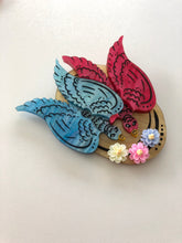 Load image into Gallery viewer, Mary Poppins Returns Cartoon Bird Hat - Laser Cut Acrylic Brooch