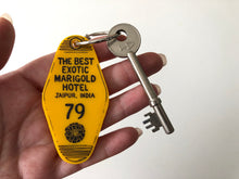 Load image into Gallery viewer, The Best Exotic Marigold Hotel - Hotel Room Key Ring - Keychain - Laser Cut Acrylic