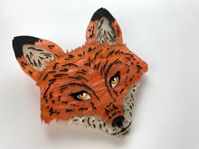 Load image into Gallery viewer, Pearlescent Fox - Laser Cut Acrylic Brooch