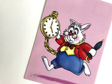 Load image into Gallery viewer, White Rabbit - Alice in Wonderland Postcard