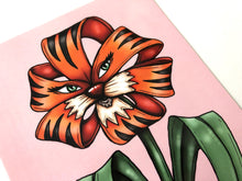 Load image into Gallery viewer, Tiger Lily - Flower Garden - Alice in Wonderland - Postcard