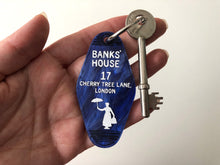 Load image into Gallery viewer, Banks' House - Mary Poppins - Keychain - Laser Cut Acrylic