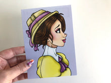 Load image into Gallery viewer, Jane Porter - Tarzan Postcard