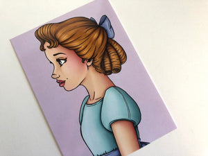 Wendy Darling - Peter Pan - Postcard