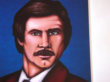 Load image into Gallery viewer, Ron Burgundy Anchorman A4 Art Print by Hungry Designs