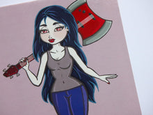 Load image into Gallery viewer, Cute Kawaii Marceline Adventure Time Postcard