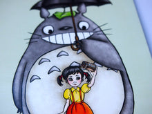 Load image into Gallery viewer, Seflie Totoro Postcard