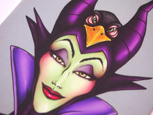 Load image into Gallery viewer, Hunter Maleficent Postcard