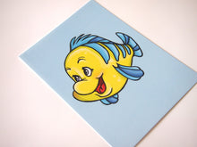 Load image into Gallery viewer, Flounder - The Little Mermaid Postcard