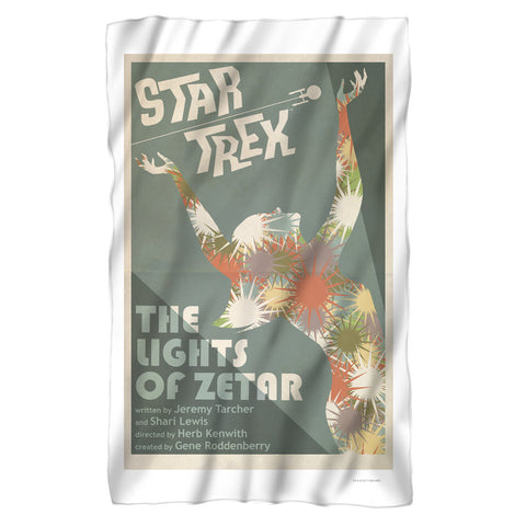 Startrek  TOS Fleece Blanket