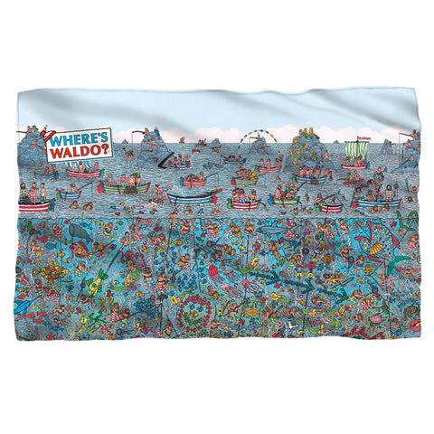 Where's Waldo Sea Me Fleece Blanket